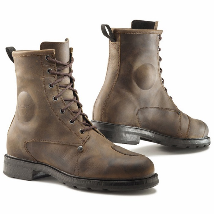 TCX X-Blend WP leather boots vintage Brown