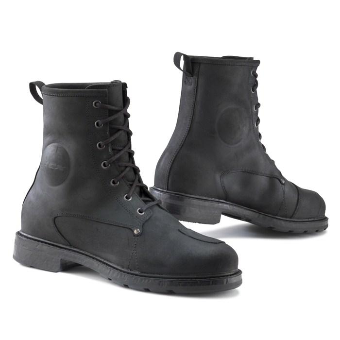 TCX X-Blend WP leather boots Black