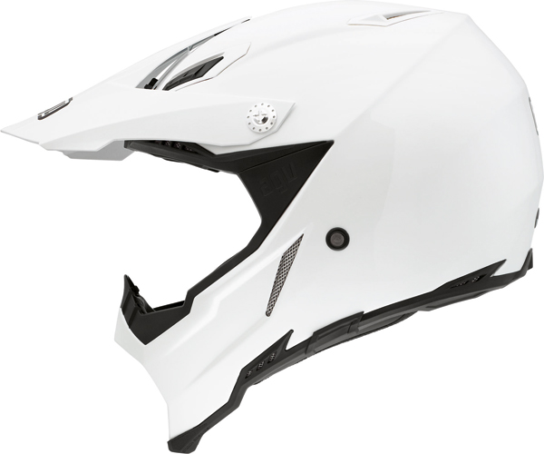 Agv AX-8 Evo Mono off-road helmet white