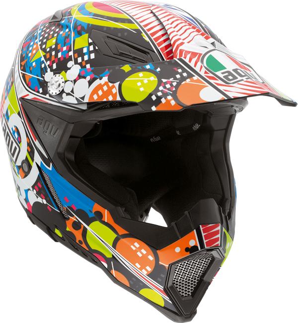 Agv AX-8 Evo Multi Hypno off-road helmet