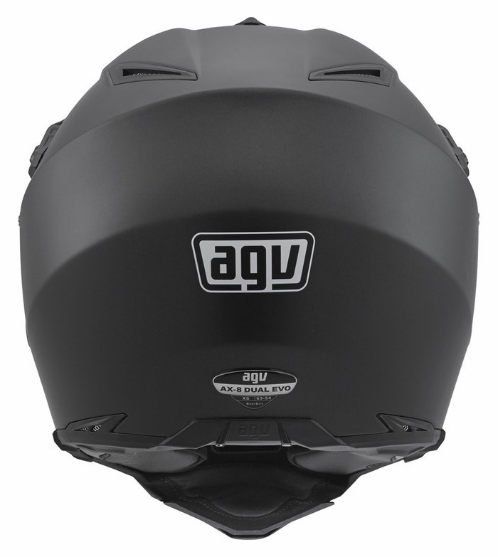 Agv AX-8 Dual Evo Mono offroad helmet matt black