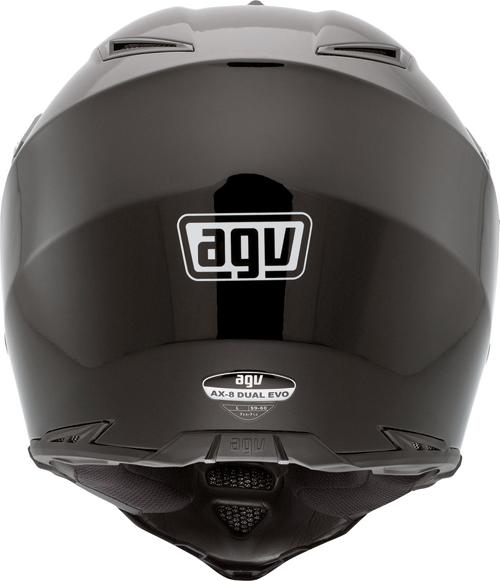 Casco moto Agv AX-8 Dual Evo Mono nero