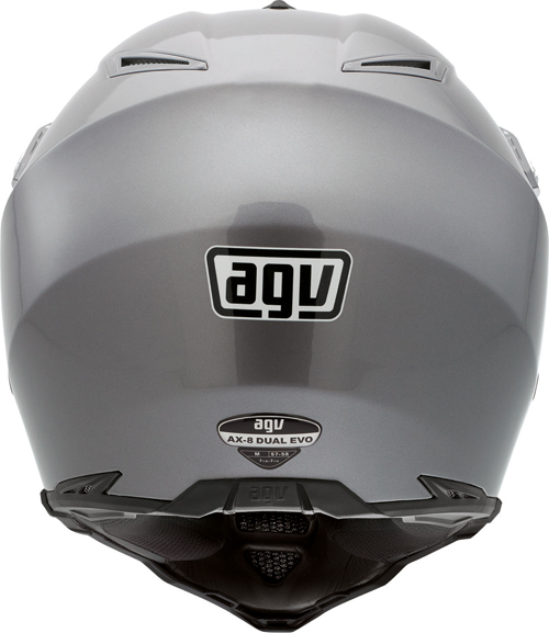 Casco moto Agv AX-8 Dual Evo Mono titan grey