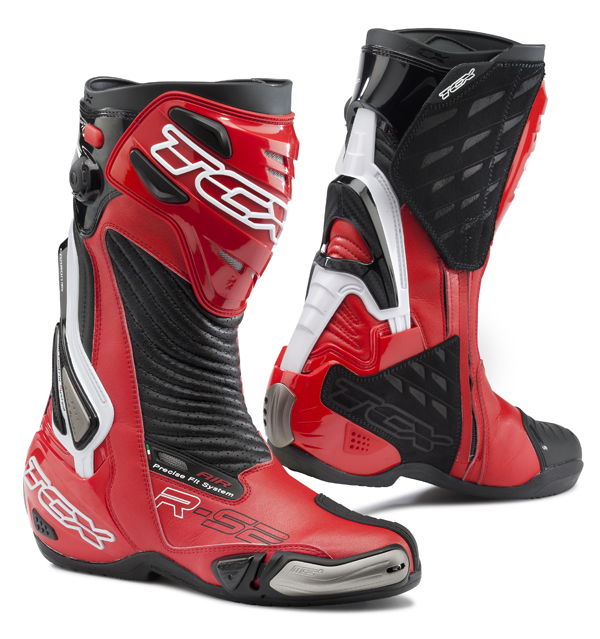 Motorcycle Boots TCX R-S2 Evo Red Black
