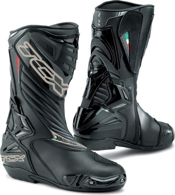 Tcx S-R1 Gore-Tex racing boots black