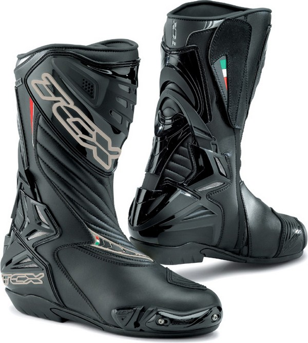 Stivali moto racing Tcx S-R1 Goretex neri