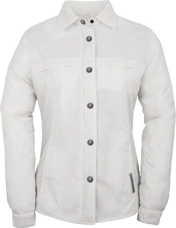 Camicia imbottita donna Tucano Urbano Lori bianco ottico