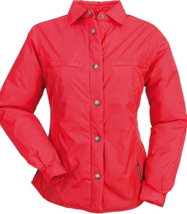 Camicia imbottita donna Tucano Urbano Lori rosso
