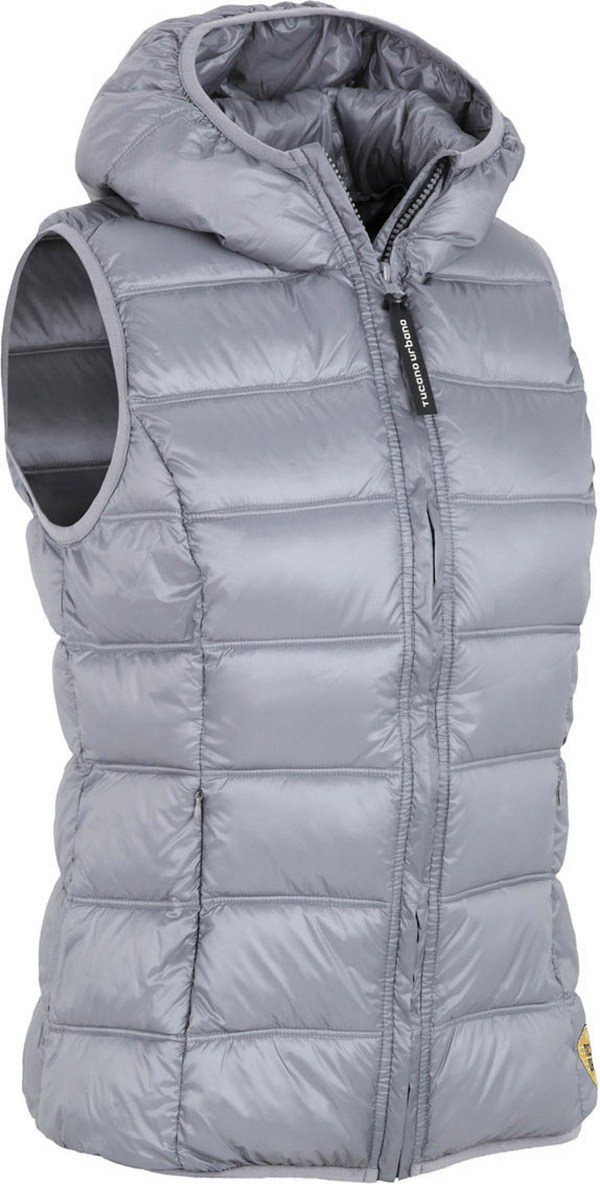 Tucano Urbano women padded gilet Hot Dog Lady 8854 grey