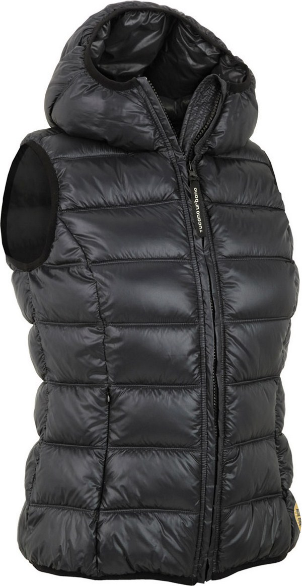 Gilet Imbottito donna Tucano Urbano Hot Dog Lady 8854 nero