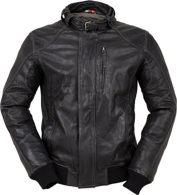 Tucano Urbano Toba 8859 leather jacket black