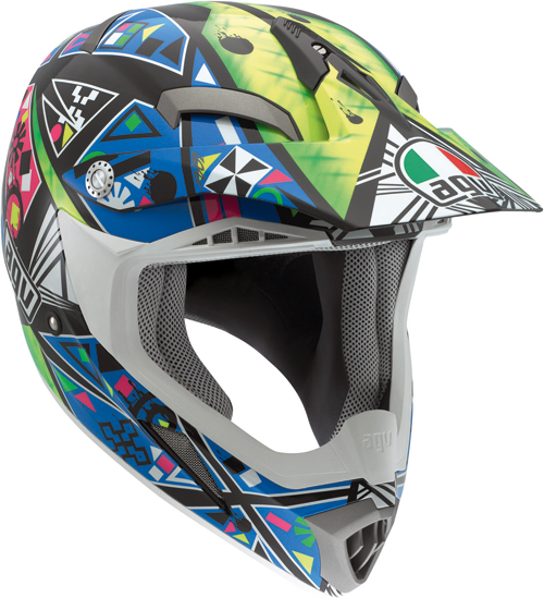 Casco moto Cross Agv  MT-X Multi Karma