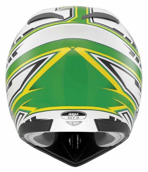 Casco cross bambino Agv MT-X Junior Multi Point bianco verde
