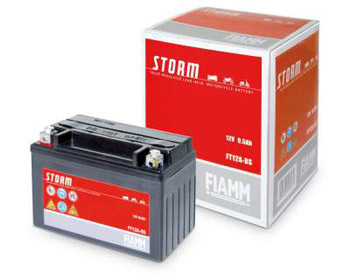 batteria Fiamm 6E4 ,dim. 113x70x85, polarità DX