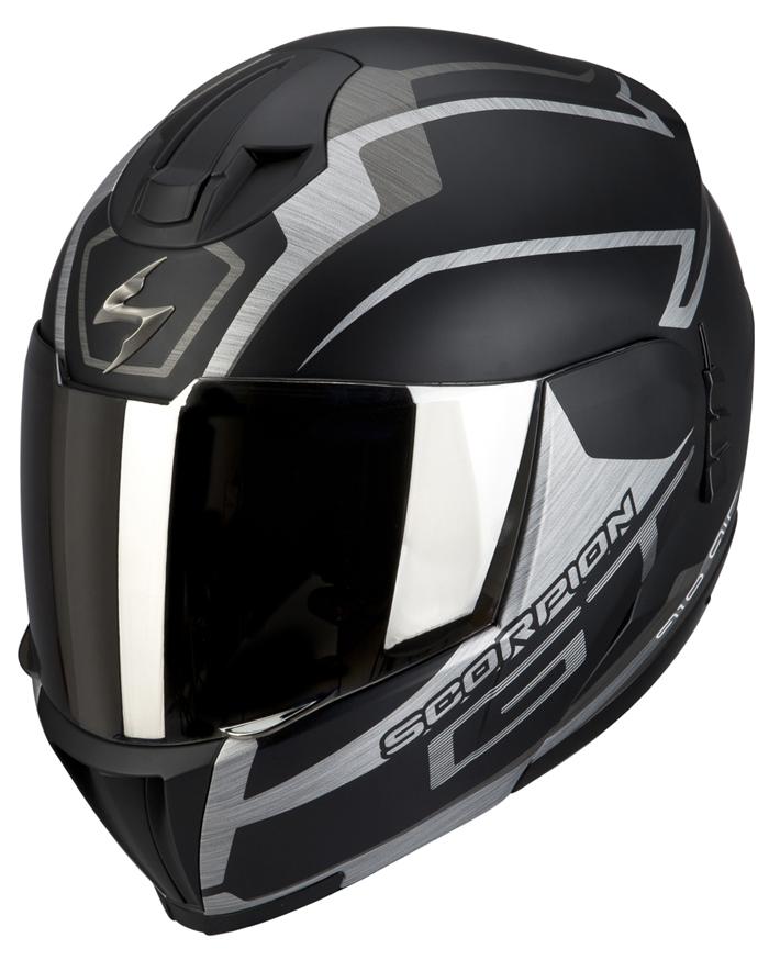 Modular Helmet Scorpion EXO 910 Black GT