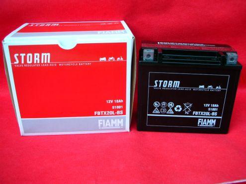 Fiamm battery 6E7A, dim. 150x87x93, polarity SX
