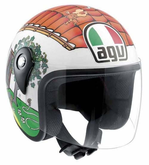 Agv Junior Open Top Valentino's House kid helmet