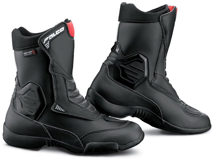 Motorcycle boots Black Falco Hoot