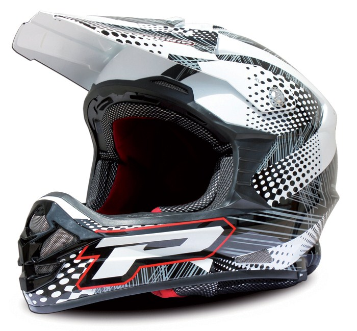 Casco cross Progrip Tricomposito Bolle