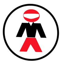 Occhiali cross Progrip Race line Rosso