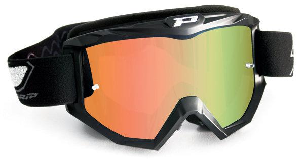 Cross Progrip goggles with mirror lens Orange