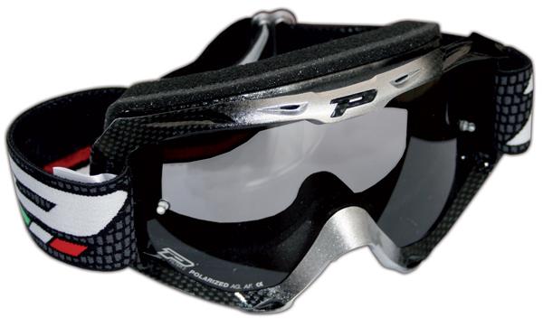 Cross glasses with polarized lens Progrip Carbon Black Bicolor