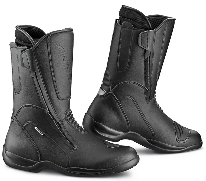 Motorcycle Boots Falco Atlantis 2 with D3O Black shoe