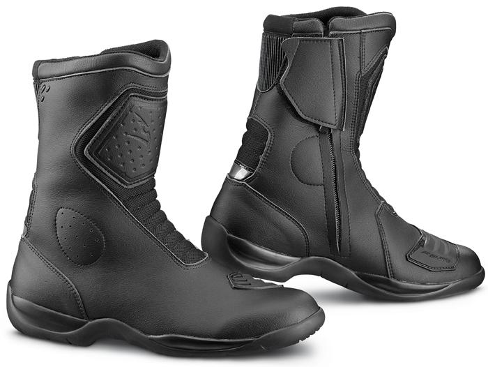 Mito 2 Black Falco motorcycle boots