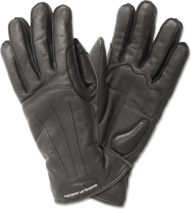 Tucano Urbano New Softy Lady women leather gloves black