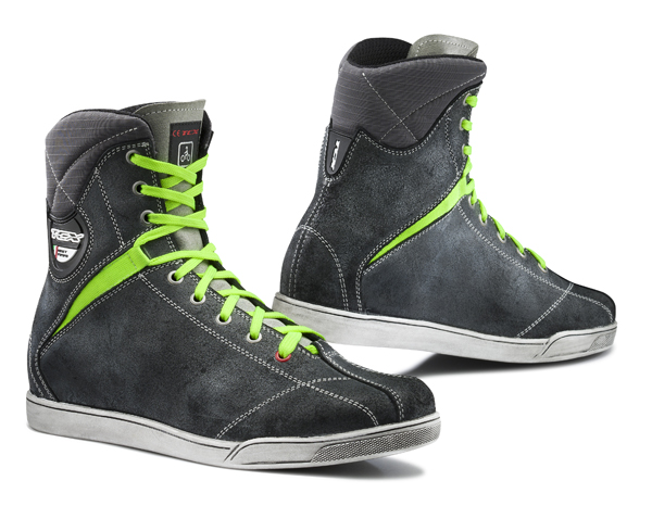Shoes motorcycle TCX X-Rap Waterproof Anthracite fluorescent yel