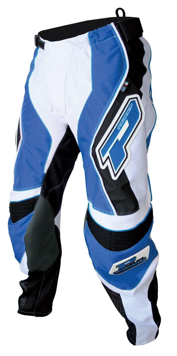 Pants cross Progrip Race Blue Line