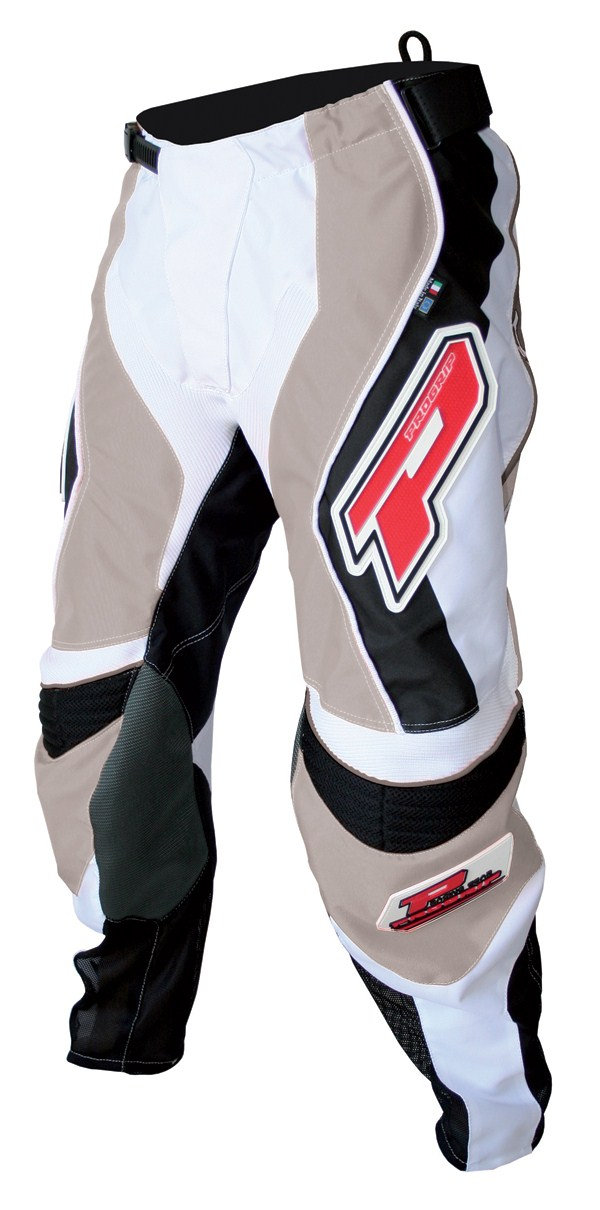 Pants cross Progrip Race Line Grey