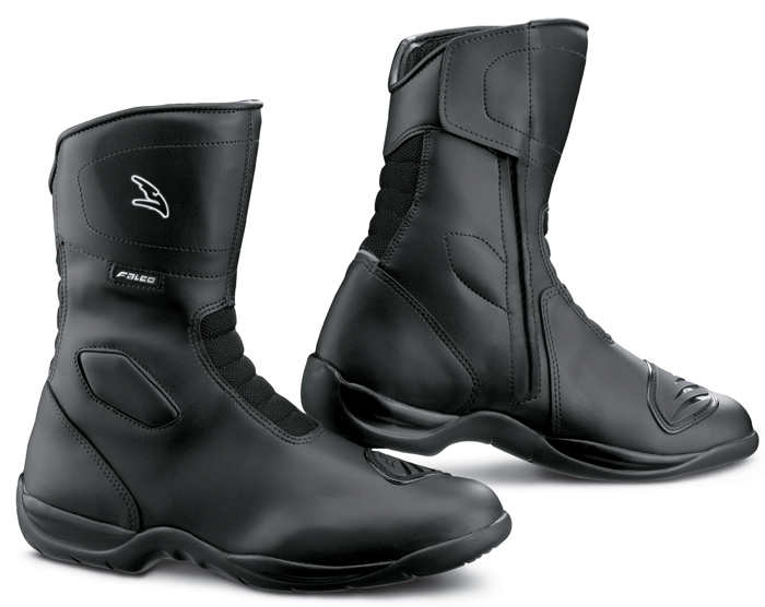 Falco Motorcycle Boots Liberty 2 Black Waterproof