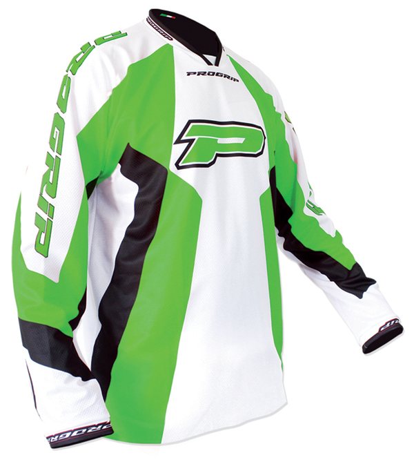 Jersey cross Progrip Race Green Line