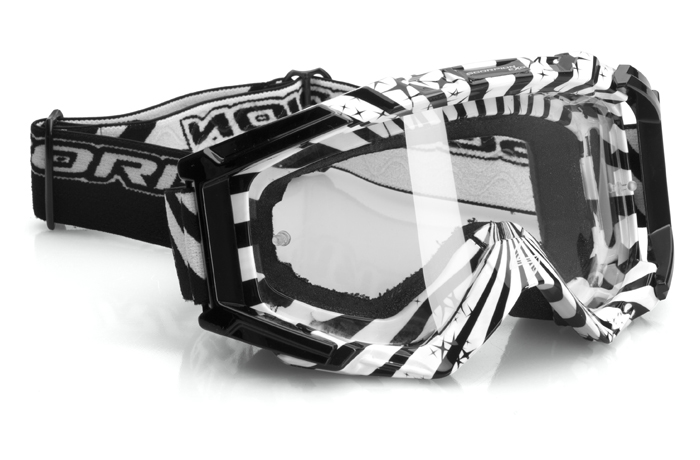 Glasses cross Scorpion White Black