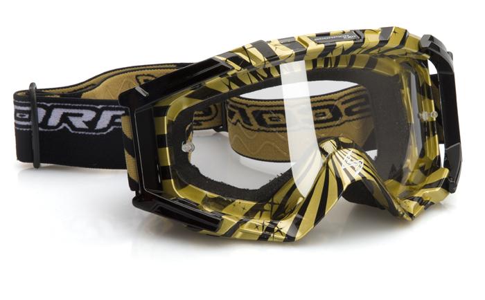 Glasses cross Scorpion Black Gold