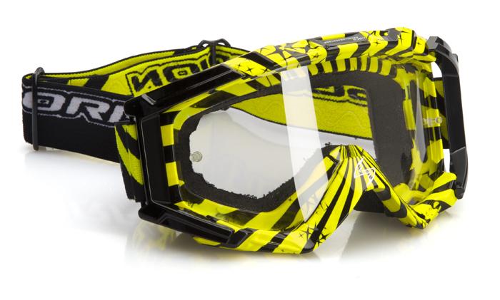 Glasses cross Scorpion Neon yellow Black