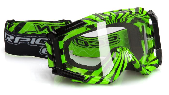 Glasses cross Scorpion Black Green
