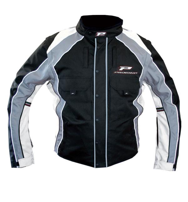 Cross Progrip Enduro Jacket Black White