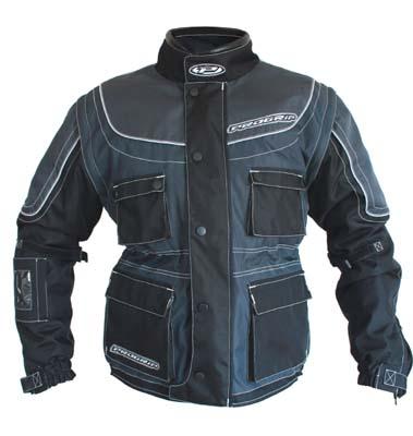 Jacket cross Progrip Duo Sport Black Titanium