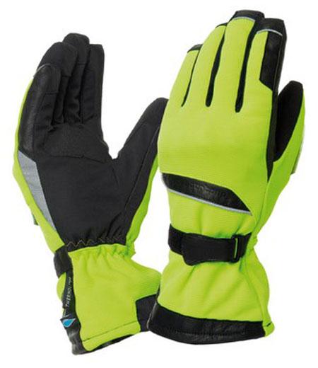 Gloves Tucano Urbano Flaming Yellow Fluo