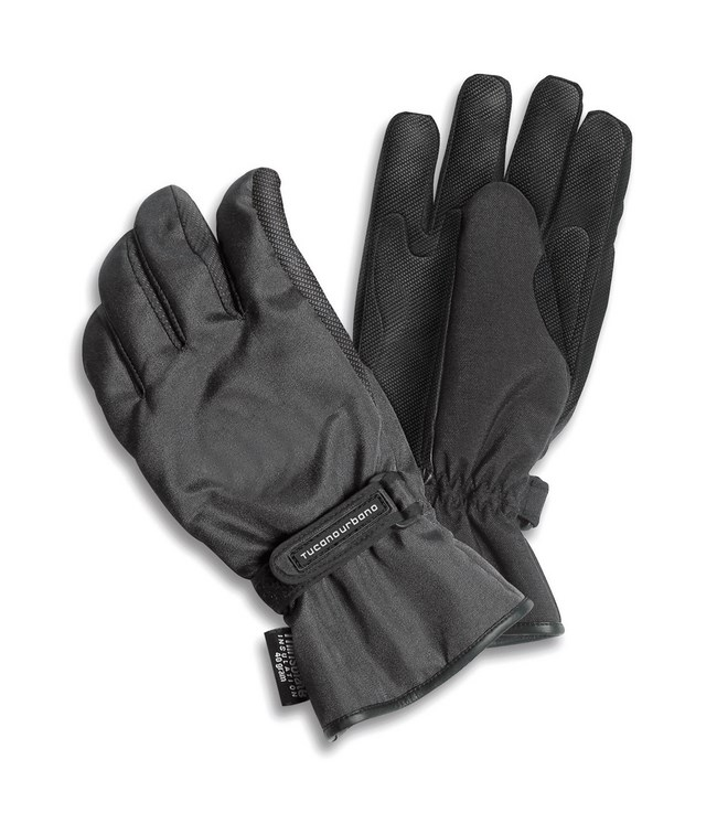 Motorcycle Gloves Black Tucano urbano Password