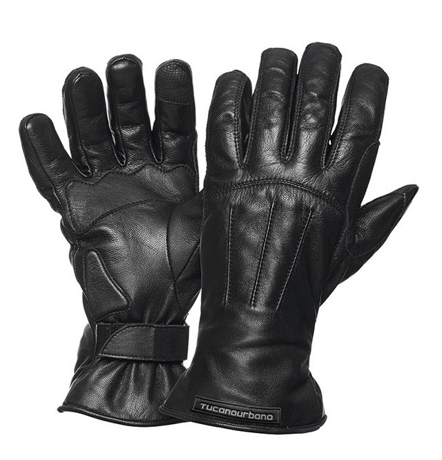 Tucano Urbano Softy Lady Touch woman leather gloves Black