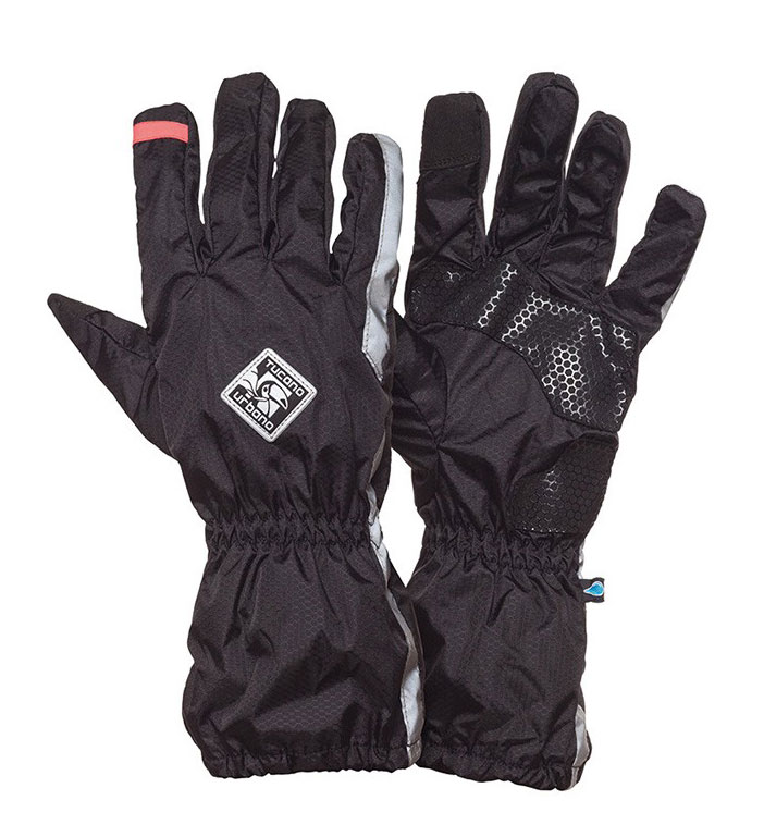 Tucano Urbano Gordon Nano rain gloves covers Black