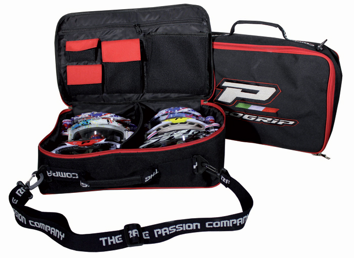 Bag portaocchiali Progrip Black Red
