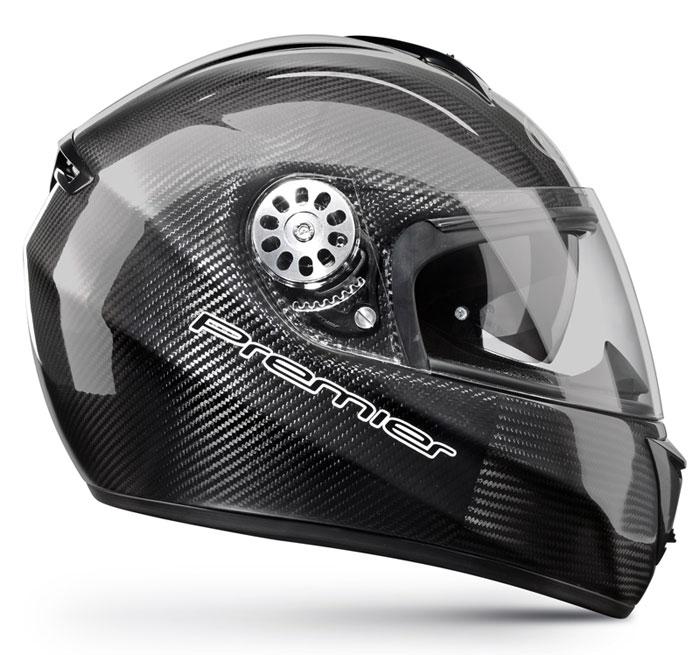 Full face helmet Premier Angel carbon double visor