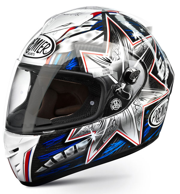 Full face helmet Premier Dragon EVO TITANIUM BAYLISS top range