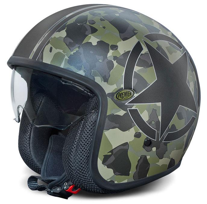 Camouflage Premier Vintage jet helmet Limited Edition