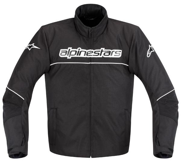 Giacca moto Alpinestars AST-1 WP Waterproof nero-bianco