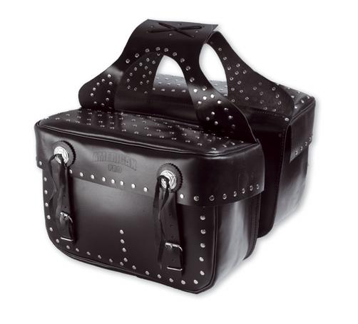 A-PRO H-D Custom Leather Saddle-Bags
